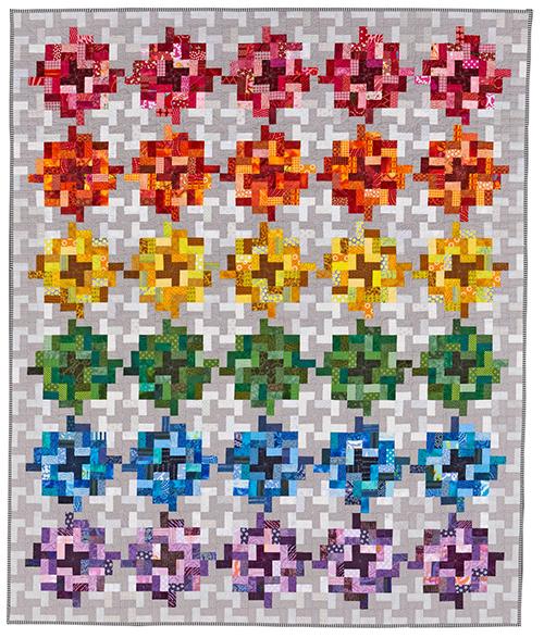 Color Coded aka Rainbodacious by Diane Harris