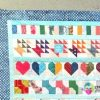 A Bitty Blocks Row Quilt (Almost) Finish