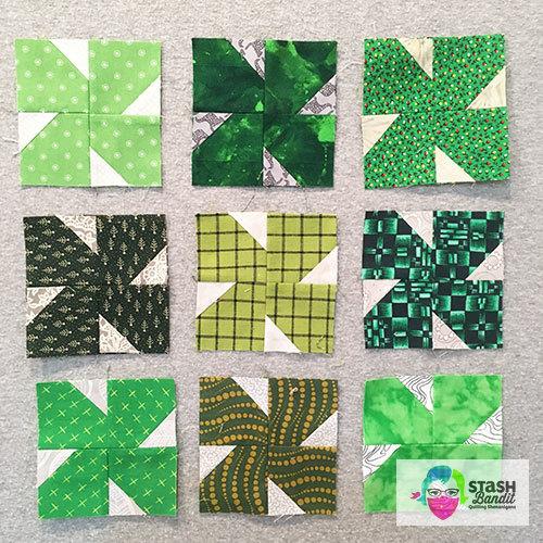 Four-Leaf Clover Quilt: Free Pattern » Stash Bandit